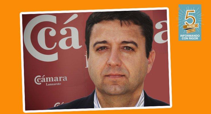 José Torres Fuentes, presidente de la Cámara de Comercio de Lanzarote y La Graciosa
