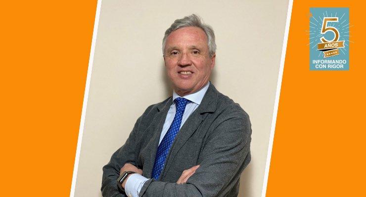 Carlos Garrido, presidente de la Confederación Española de Agencias de Viajes (CEAV)