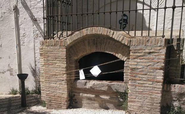 Daños en el Aljibe de San José, en Granada|Foto: Ideal