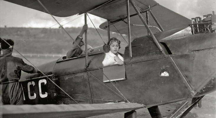 María Bernaldo de Quirós, la primera mujer piloto de España | Ricardo Martín  (CC BY-SA 3.0)
