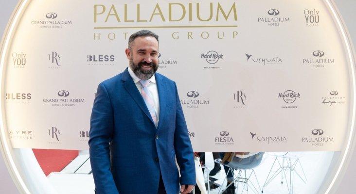 Sergio Zertuche, director corporativo de Comercial y Marketing de Palladium Hotel Group