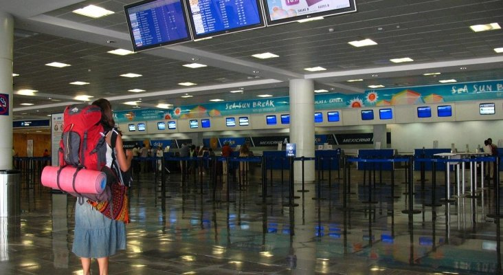 Aeropuerto de Cancún   Foto: Elemaki