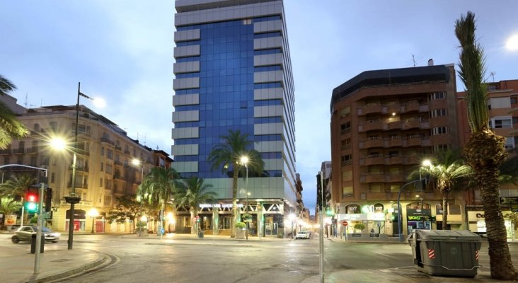 El Hotel Eurostars Lucentum, valorado en 28 millones de euros | Imagen: Millenium Hotels Real Estate