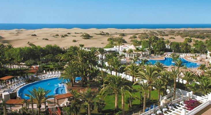 Vistas del hotel RIU Palace Maspalomas, en Gran Canaria | Imagen: RIU Hotels & Resorts
