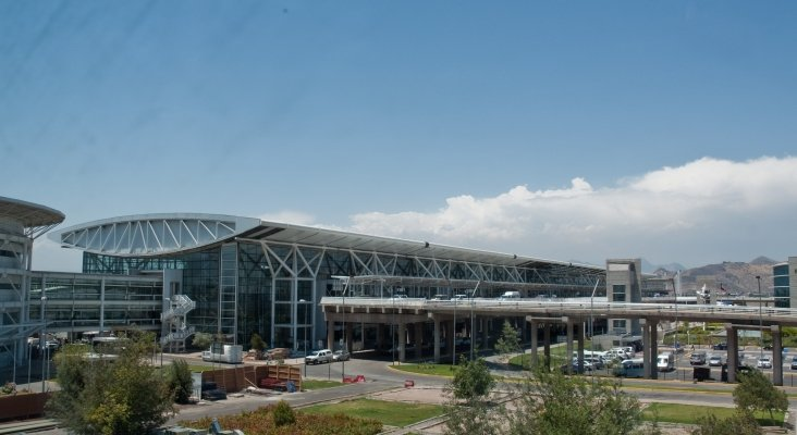 Aeropuerto Internacional Arturo Merino Benítez (Chile) | Foto: Phillip Capper (CC BY 2.0,)