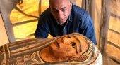 Descubren 59 sarcófagos | Imagen: Ministerio de Antigüedades de Egipto