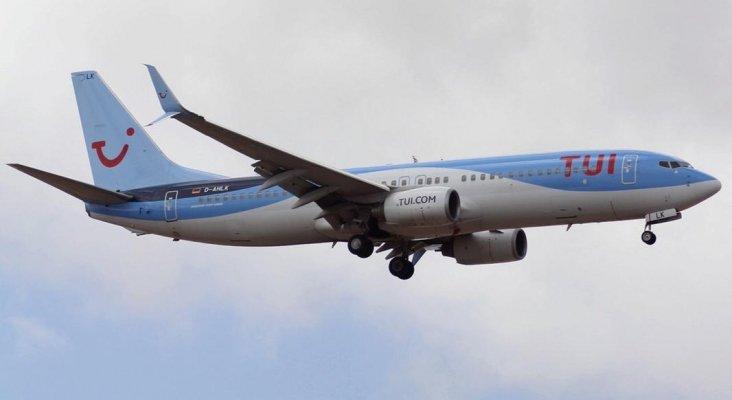 Avión de TUI llegando a Gran Canaria la pasada semana| Foto: Sam Vila van Wijk