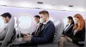 Según IATA la probabilidad de contagio de Covid en un avión es muy baja | Imagen: Embraer