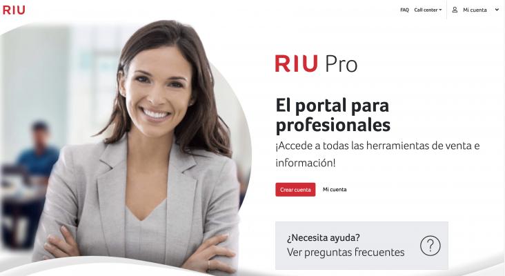 RIU lanza su nueva web RIU Pro