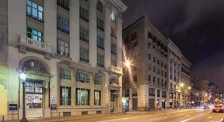 Hotusa pone a la venta otro hotel para buscar liquidez   Foto: Exe Laietana Palace en Barcelona