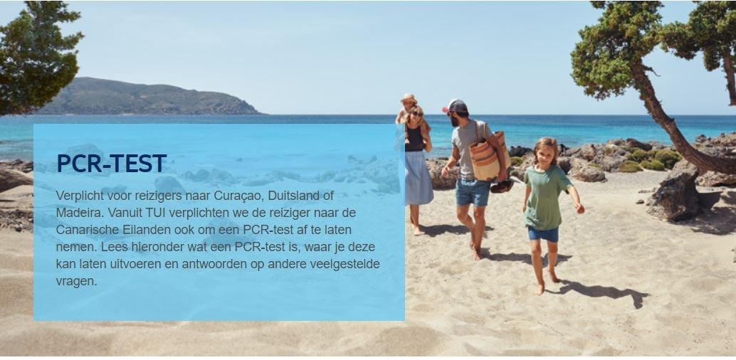 TUI Nederland, primer turoperador que obliga a sus clientes a hacerse un test para viajar a Canarias