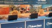 Estand de Bravo Tours| Foto: Turismo de La Palma