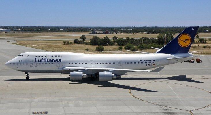 Boeing 747 400 de Lufthansa|Foto: Darren Koch (GNU Free Documentation License)