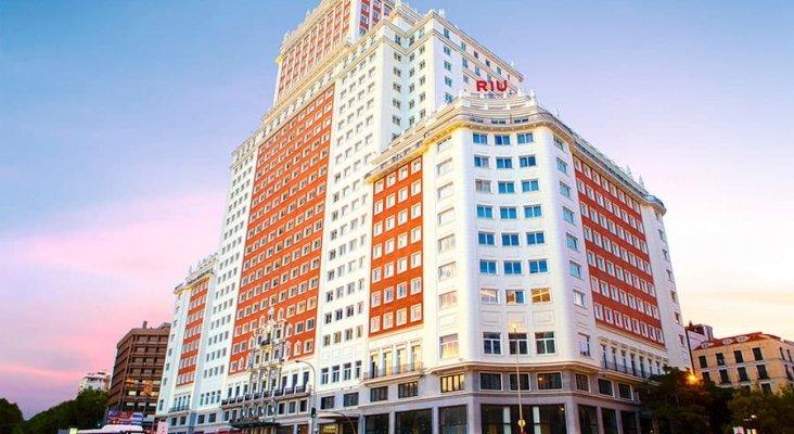 El hotel RIU Plaza España de Madrid   Foto: RIU