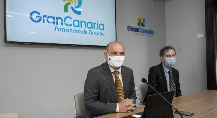 Carlos Álamo y David Balsa en la presentación del I Foro Iberoamericano de Turismo