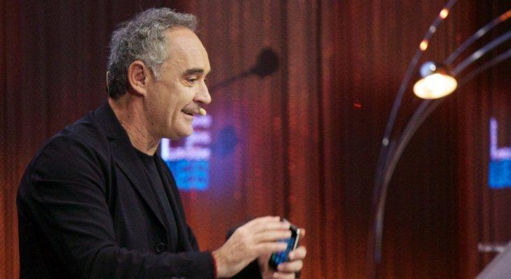 Ferran Adrià reivindica el apoyo del Gobierno para la hostelería | Foto: Adam Tinworth