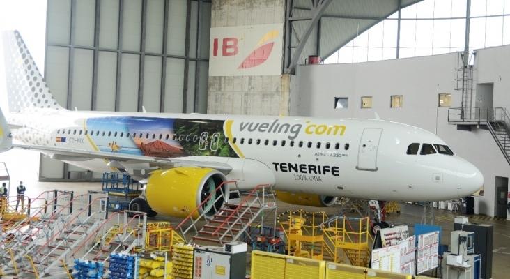 Vueling lucirá la imagen de Tenerife por toda Europa