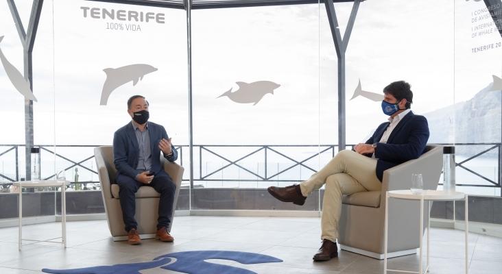 El Cabildo de  Tenerife refrenda su compromiso con la sostenibilidad marina y recibe el HOPE Spot