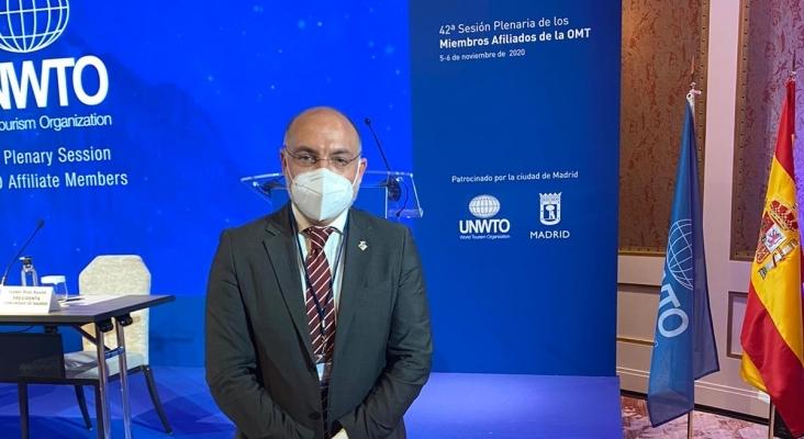 Andereu Serra, Conseller de Turismo y Deportes de Mallorca en la 42º Sesión Plenaria de los Miembros Afiliados de la OMT