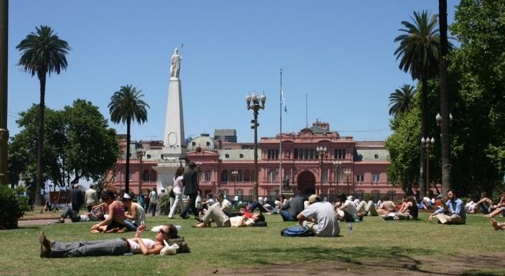 Plaza 2 de mayo, Buenos Aires Argentina