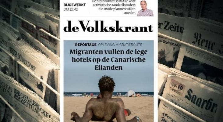 De Volkskrant, artículo sobre migrantes en las Islas Canarias