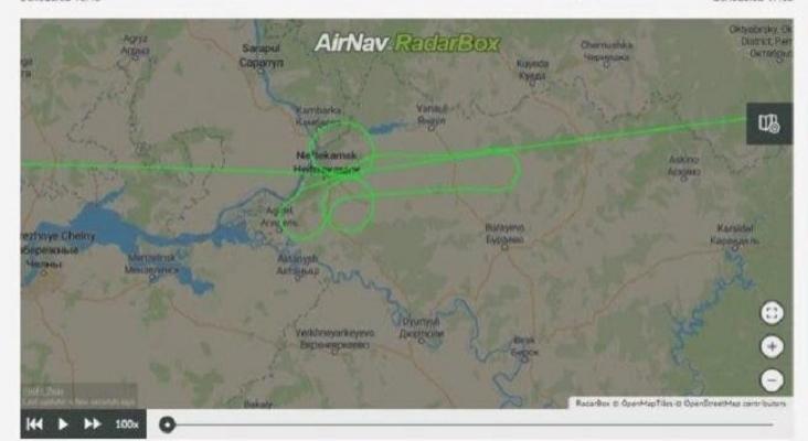 Investigan a dos pilotos por dibujar un pene en el cielo con un Boeing 737|Foto: metro