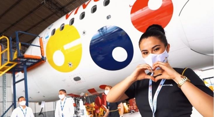 La aerolínea colombiana Viva Air se suma al reto #JerusalemaChallenge