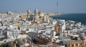 Vista aérea de la ciudad de Cádiz