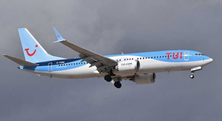 Boeing 737 MAX de TUI | Foto: Alan Wilson (CC BY-SA 2.0)