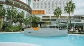 Hoteles convierten sus piscinas en espacios de exposición náutica
