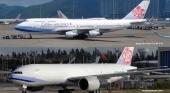 China Airlines, aerolínea nacional de Taiwán, cambia de nombre para distanciarse de Wuhan y el Covid|Montaje fotográfico en base a fotografías de Paine Airport (@mattcawby) y NagamasaAzai (CC BY 3.0)