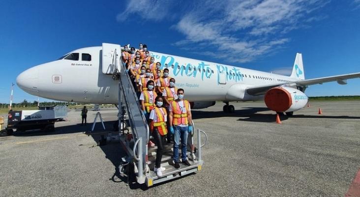 Nace una nueva aerolínea en República Dominicana: Sky Cana   Foto: Twitter Sky Cana