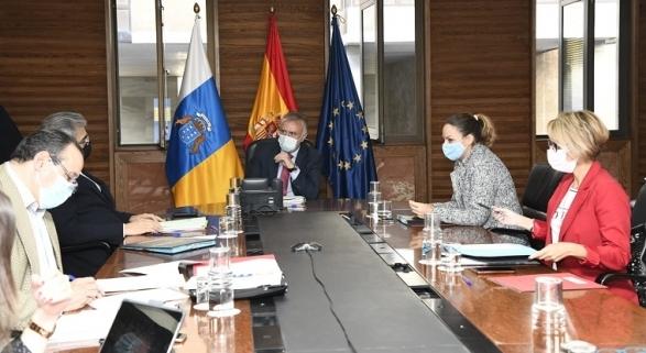 Consejo del Gobierno de Canarias celebrado el 3 de diciembre | Foto: Gobierno de Canarias