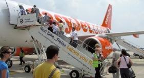Embarque en un avión de easyJet