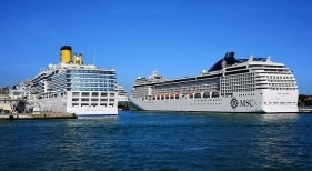 Tanto MSC como Costa Crociere cancelan sus cruceros en el Mediterráneo por Navidad