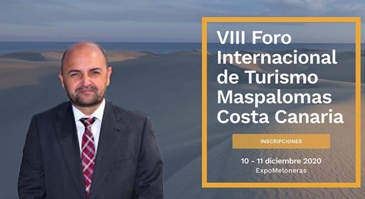 Carlos Álamo, consejero de Turismo del Cabildo de Gran Canaria