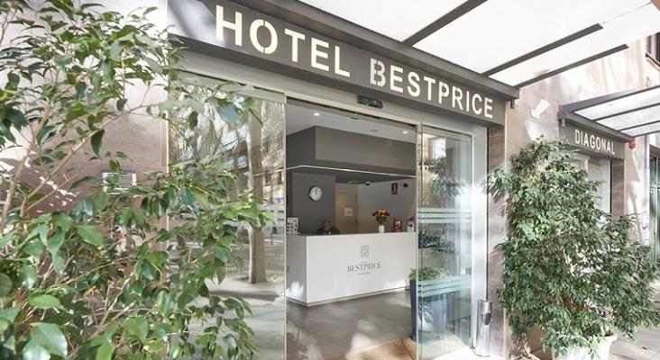 El hotel BestPrice Girona está listo para abrir, pero retrasa su inauguración hasta 2021 | En la imagen, el hotel BestPrice Diagonal, Barcelona