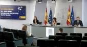 Rueda de prensa posterior al Consejo de Ministros en el que se ha aprobado el Plan de ayudas a la hostelería y el turismo | Foto: Pool Moncloa / José María Cuadrado (CC BY-NC-ND 2.0)