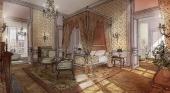 Dormir en el Palacio de Versalles será posible a partir de 1.700 euros | Foto: Boceto del hotel, de Le Grand Contrôle Airelles