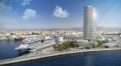 Se desvela el diseño del hotel de lujo del grupo qatarí Al Bidda en el Puerto de Málaga