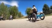 Una silla de ruedas todoterreno para un turismo más accesible
