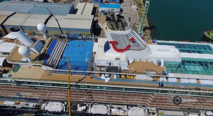 Modernización del crucero Mein Schiff 3