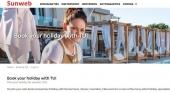 """El grupo turístico Sunweb """"anima"""" a los turistas a reservar sus vacaciones con un competidor"""