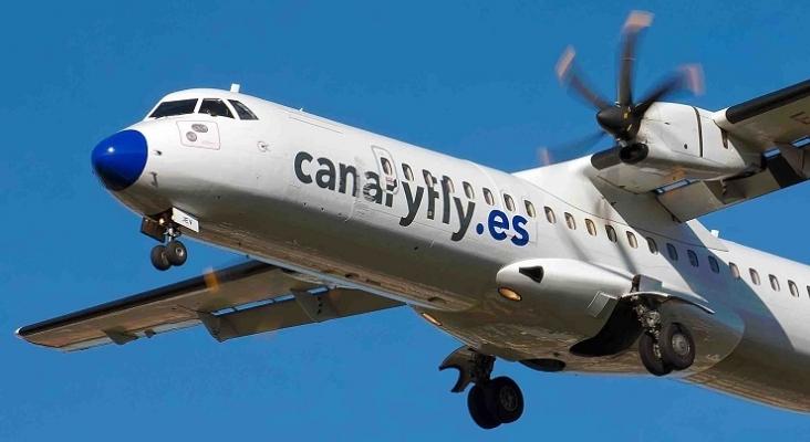 Canaryfly suspende los vuelos entre islas hasta el 21 de marzo