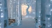El Icehotel de Suecia, abierto y ofreciendo visitas virtuales para los extranjeros| Foto: Asaf Kliger © icehotel.com