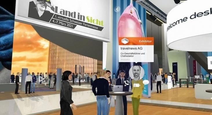 Suiza celebra feria de viajes donde los expositores y visitantes contarán con avatares 3D