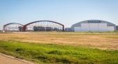Avanzan las obras del segundo hangar de mantenimiento de Ryanair en Sevilla