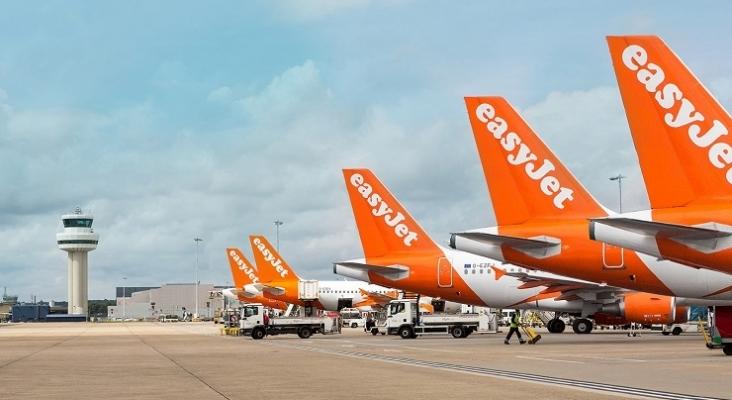 Aviones de la aerolínea easyJet
