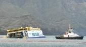 El Bentago Express, en camino de convertirse en un nuevo 'Costa Concordia'