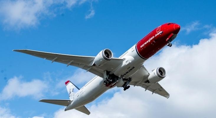Boeing 787 Dreamliner utilizado para los vuelos de largo radio  Foto: Norwegian (Creative Commons Attribution)